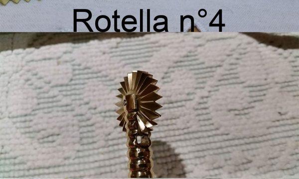 Rotella taglia pasta n° 4