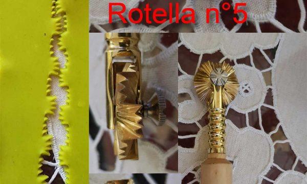 Rotella taglia pasta n°5