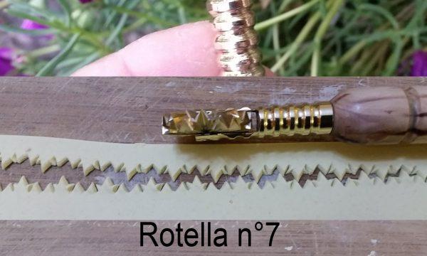 Rotella taglia pasta n° 7